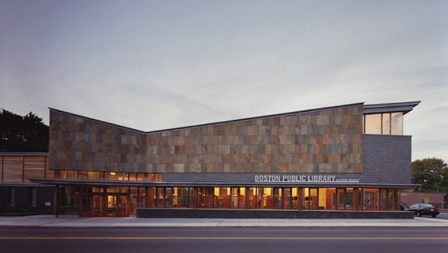 Allston Library Design Architecture