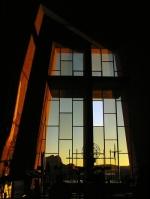 chapel in the rock window