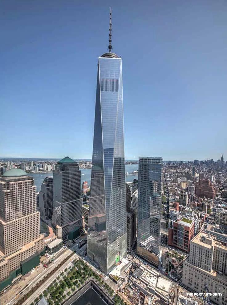 One World Trade Center (Freedom Tower) – New York, U.S ...