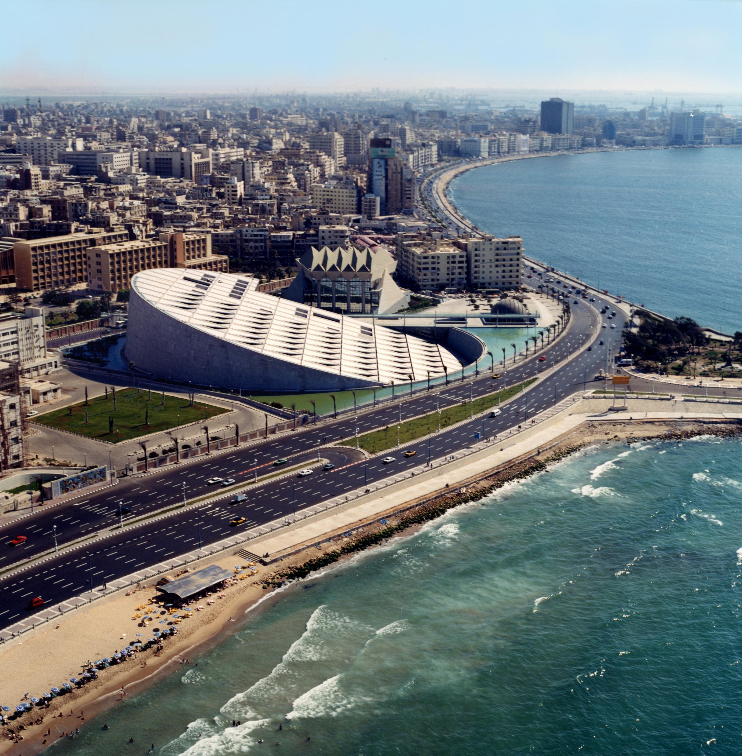 Location Of The New Warriors Stadium: Alexandria Library – Alexandria, Egypt