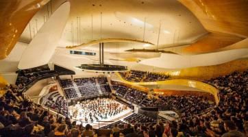 Interior Philharmonie de Paris