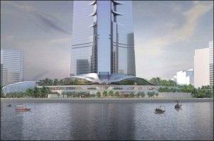 Kingdom-Tower base