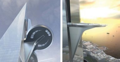 Kingdom-Tower observation deck