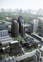 Chaoyang Park Plaza Rendering 1
