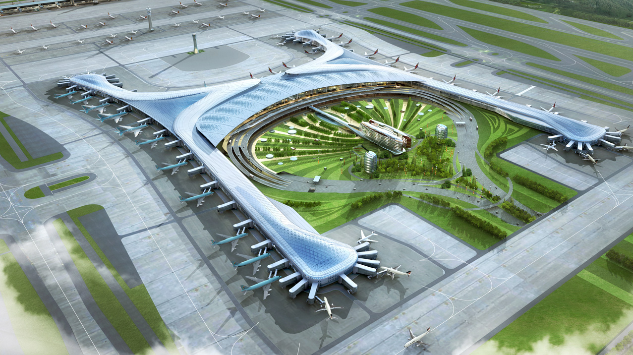 Incheon International Airport Terminal 2 Seoul South Korea