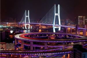 nanpu-bridge-night-view