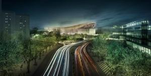 New Palau Blaugrana_Exterior_Courtesy HOK and TAC