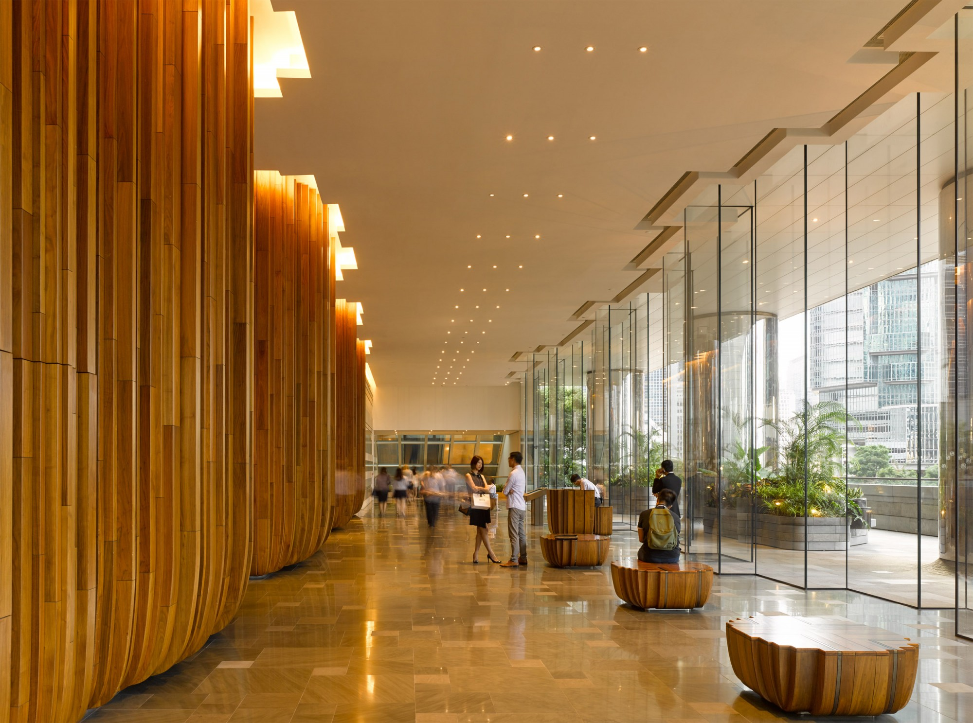pacific place hong kong lobby heatherwick interior thomas office hotel queensway architecture studio theartistandhismodel entrance arch metalocus limit bring interiors