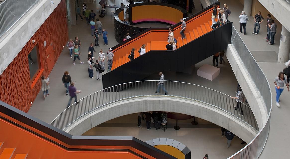 Shl architects thor heyerdahl college level distribution