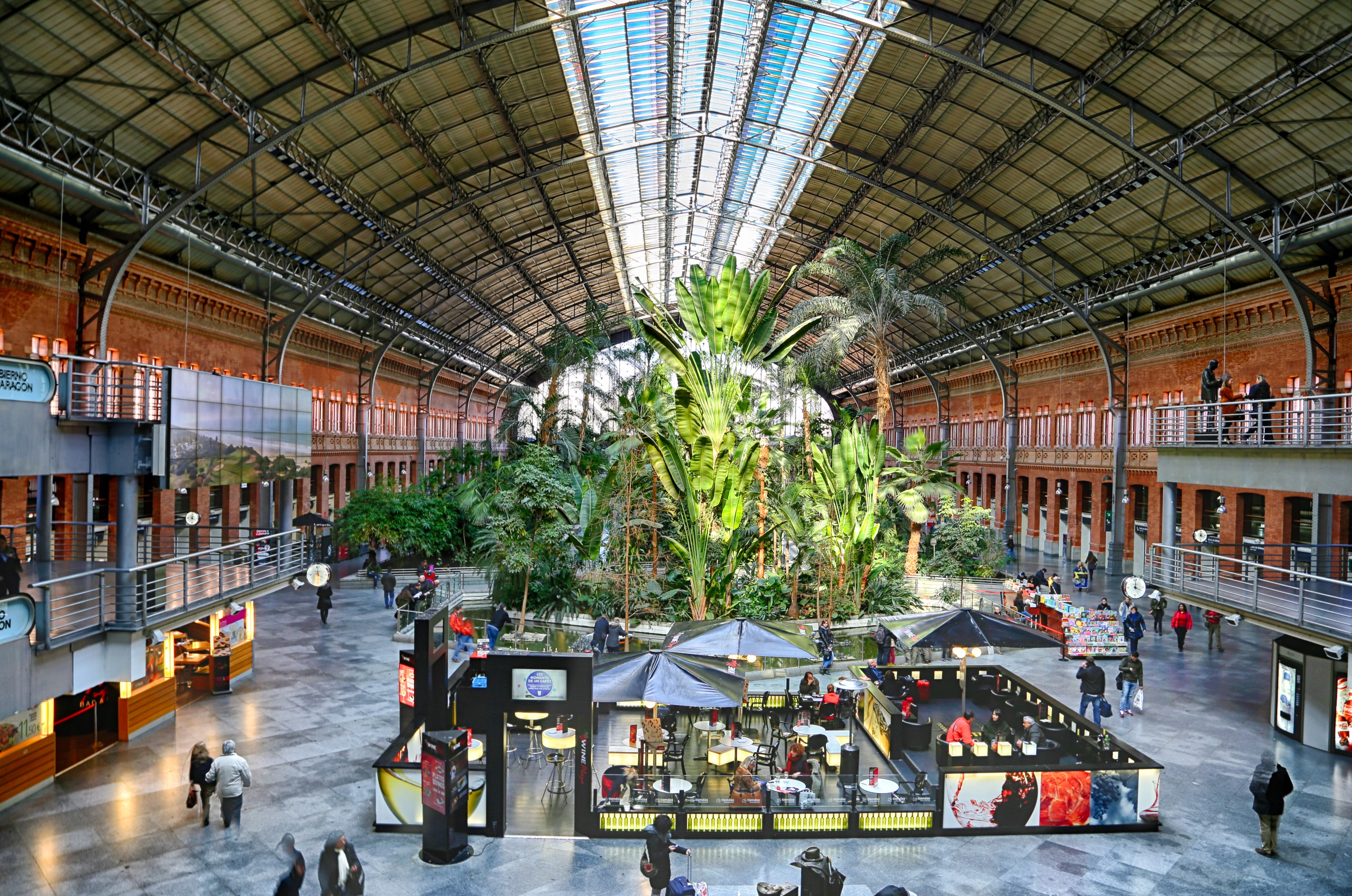 atocha railway station madrid spain aeworldmap com over 2 400 posts. Black Bedroom Furniture Sets. Home Design Ideas