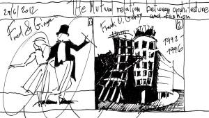 Dancing House Sketch