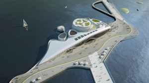 Soma Pavilion Aerial