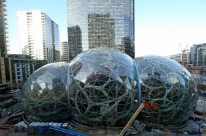 Amazon's Spheres: Lush nature paradise to adorn $4 billion urban campus