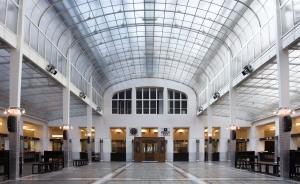 PSK Otto Wagner's Postsparkasse. Vienna, Austria