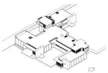 Schindler House rendering